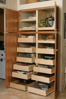 our shelves the pull out shelf company rh pulloutshelf com sliding shelves pantry cabinet sliding pantry shelves lowes