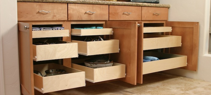 Pull Out Shelving Kitchen Solutions . Lifetime Warranty Bring Out The Best  In Your Cabinets